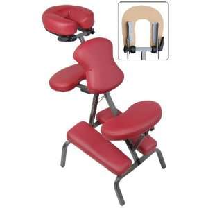 Portable Massage Chair Therapy Spa Salon Tattoo Facial Tilt Bed 3 Red