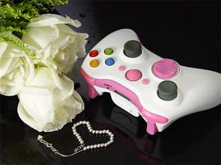 XCM 360 WIRELESS CONTROLLER SHELL *PINK LADY* WITH NEW D PAD