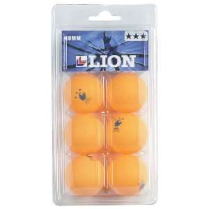 Markwort Lion 3 Star Table Tennis Balls