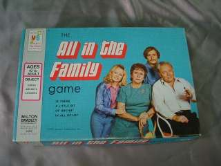 Vintage 1972 Milton Bradley ALL IN THE FAMILY TV Show GAME