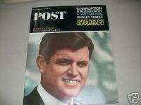 1965 JUNE 5 SAT EVE POST MAGAZINE TED KENNEDY   I 2351