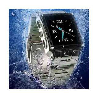 New Waterproof Watch Phone with Camera +MP4 player,JAVA,Touch