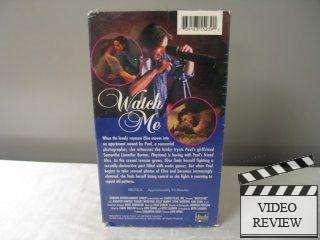Watch Me (VHS, 1996) Jennifer Burton Robert Medford Kelly Burns