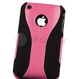 Piece Cup Shape Pink/Black Case+Car Dashboard Mount+Charger For