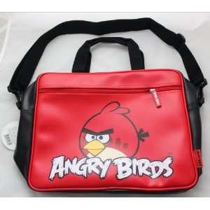 Birds Red / Black Messenger Bag   Imported Rare~: Everything Else
