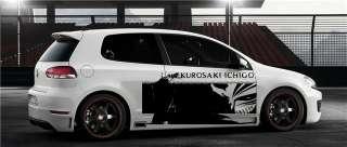 Custom Wrap CAR VINYL GRAPHICS ANIME KUROSAKI ICHIGO 027
