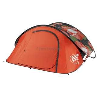 Tent Camping Pop Up Tente 2 SECONDS AIR III fleur , 3 Man