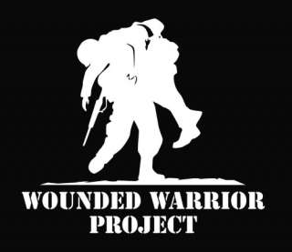Wounded Warrior Project Vinyl Sticker Decal Any Color