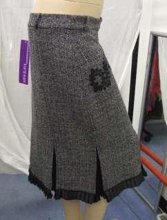 Joseph Ribkoff BNWT 10 Stunnig Grey Tweed Dressy Skirt