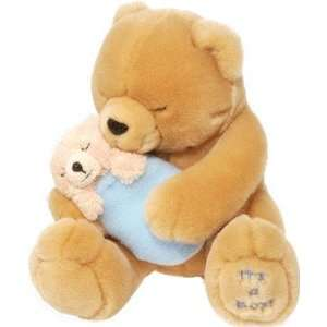 Teddy Bear w/ Baby Boy Plush by Wild Republic Toys & Games