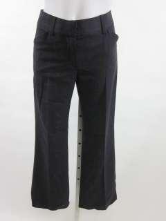 THEORY Gray Knit Wool Blend Pants Slacks Trousers Sz 4