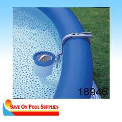 Intex Deluxe Wall Mounted Swimming Pool Surface Skimmer 58949E