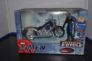 Toy Biz  Marvel X men Wolverine X cycle and Figure NEW