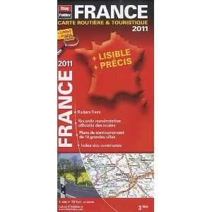 France, carte routière & touristique (French Edition