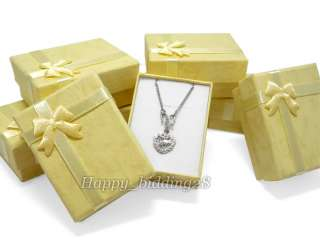 12 Jewelry Necklace Bracelet Ring Color Gift Box Case