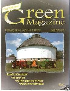 John Deere 4010 Tractor   New Generation 820, Green mag