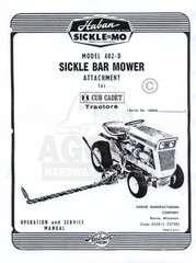 Haban Sickle Bar Mower 416 Deere 140 120 300 Sickle MO