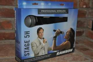 SAMSON STAGE 5H WIRELESS MICROPHONE SYSTEM SW05SHCM NEXT DAY SHIP