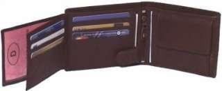 Leather Cowhide Mens Large Wallet BLACK, BROWN, TAN #4555
