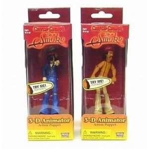 Cheech & Chongs Up in Smoke 3 D Animator Action Puppet