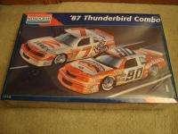 Monogram 87 Thunderbird Combo Model Kit   Sealed
