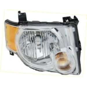 Aftermarket Replacement Headlight Headlamp Assembly Clear Lens CHROME