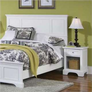 Styles Naples White Queen Headboard & Night Stand   5530 5011