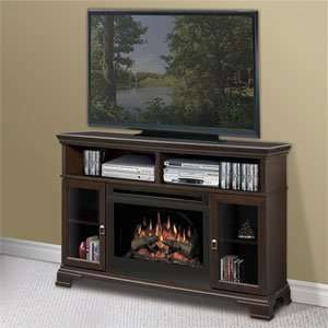 Dimplex Brookings Espresso Electric Fireplace Media Console   GDS25