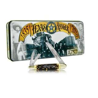 Schrade Knife Texas Ranger Cigar Whittler Gift Tin 9TRT
