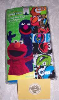 Characters Elmo Cotton Underwear Brief Toddler Boys 2T 3T