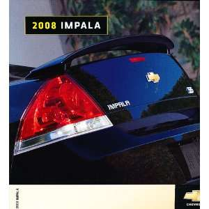2008 Chevrolet Chevy Impala Dealer Sales Brochure Catalog