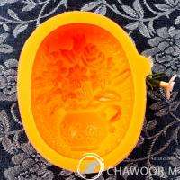 Silicone Molds mould Handmade Soap   Flower vase 01