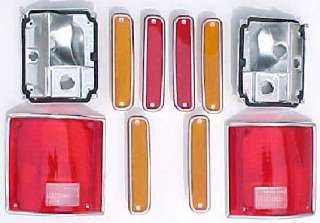 73 75 79 80 Chevy GMC DUALLY TRUCK 10 PC Tail Light Kit