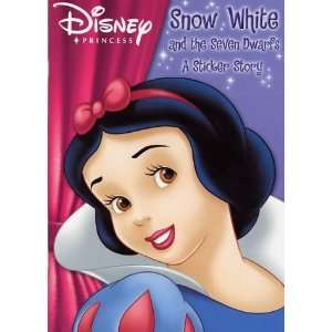 Snow White (Disney Princess First Sticker) (9781844222124