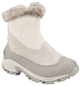 Columbia Whitefield Zip Omni Tech Boots Winter White/Crushed Berry