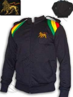 Veste Rasta Army Jamaica Bob Marley Noir Black L BE