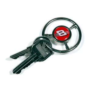 #8 Dale Earnhardt Jr Steering Wheel Key Chain Everything