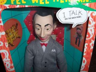 1987 Matchbox Pee Wee Herman Talking Doll in Box