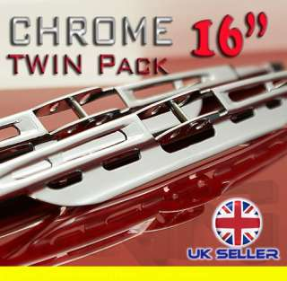 CHROME WIPER BLADES 16 CAR VAN TRUCK NEW FP