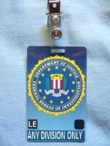 CTU FBI ID Card Larry Moss Agent Security Cards 24 Prop
