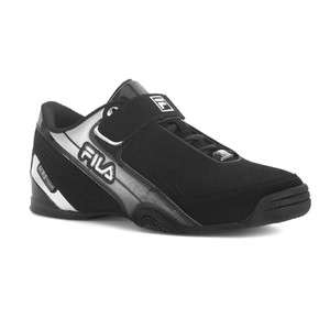 Fila CLUTCH LOW II STRAP Mens Double Black Silver Athletic Training