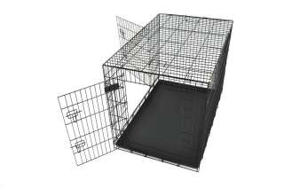 Champion 48 Two Door Folding Dog Crate Cage Kennel