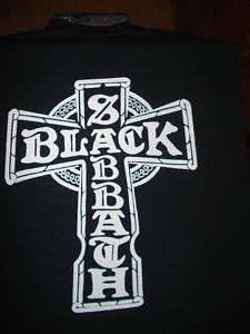 Black Sabbath Iron Cross Shirt  SZ S M L