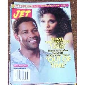 Jet Magazine, Oct. 6, 2003. Denzel Washington and Sanaa