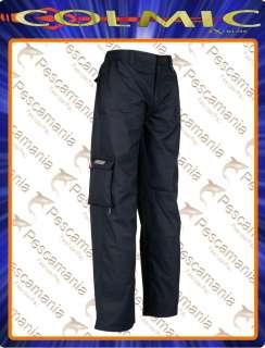 Pantalone invernale Colmic blu imbottito   Padded winter trousers