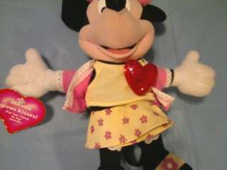 DISNEY FISHER PRICE KISSES MINNIE MOUSE TALKING W/ TAG