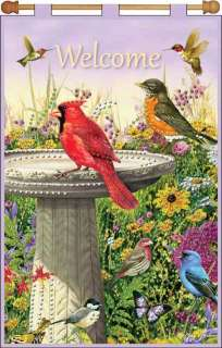 Kit 16 x 24 ~ WELCOME BIRDS Banner Sale #9656 021465096568