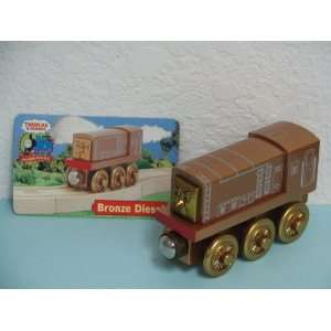 New BRONZE DIESEL Thomas & Friends Wooden Train Engine