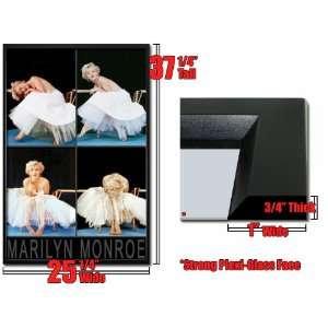 Framed Marilyn Monroe 4 Shot Poster White Dress FrRp538
