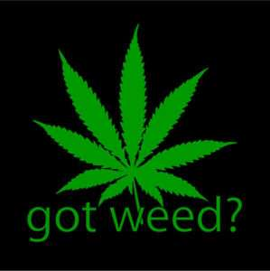 GOT WEED pot weeds marijuana medical t shirt Large